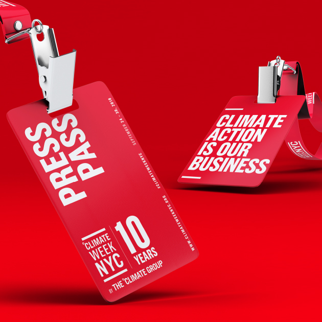 Climate Week NYC - Press Pass