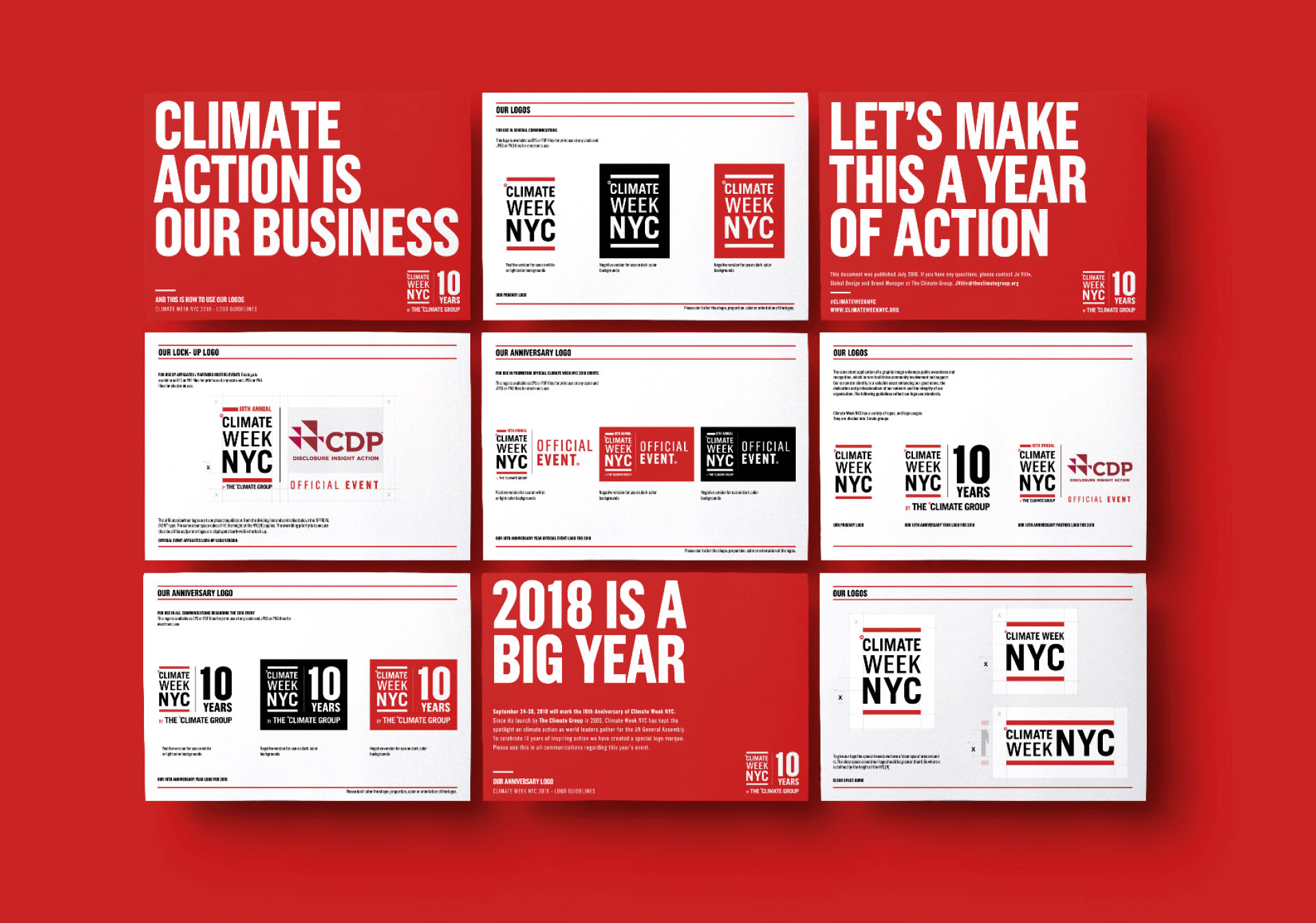 Climate Week NYC - Brand Guidelines