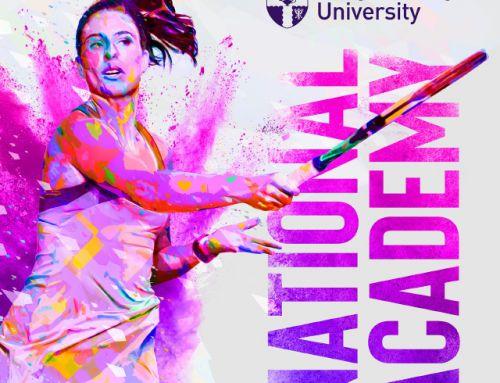 Loughborough University National Tennis Academy  Internal Branding
